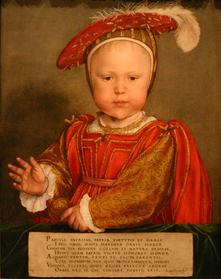 Edward Prince of Wales, byt Hans Holbein the Younger