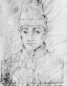 Sketch of Duke Humphry of Gloucester