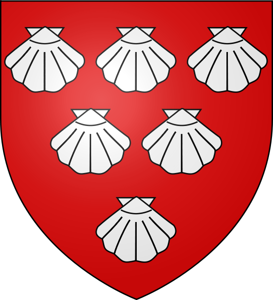 The coat of Arms of Thomas de Scales