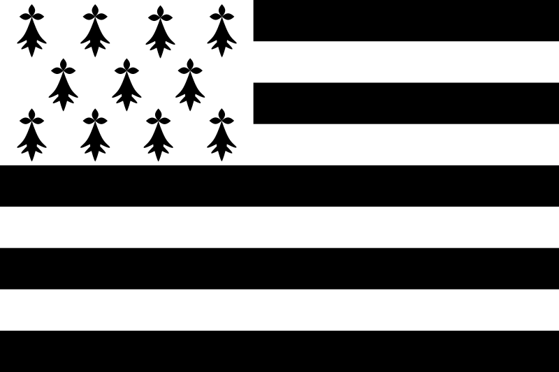 The Flag of Brittany