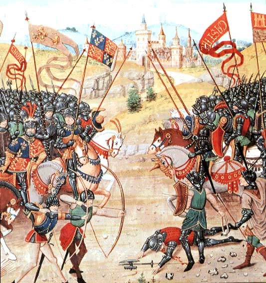 The Battle of Agincourt from Froissant's Chronicles