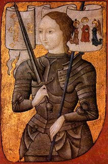 Medieval depiction of Joan c.1480