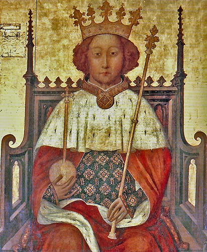 Richard II Coronation portrait